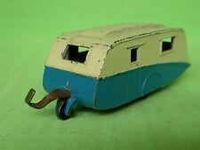 DINKY TOYS 190 CARAVAN TRAILER BLUE 1/43 - GOOD CONDITION