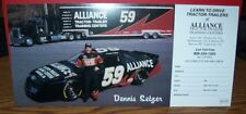 DENNIS SETZER #59 ALLIANCE RACING POSTCARD HANDOUT CARD