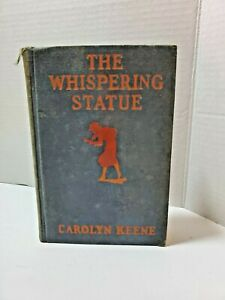 The Whispering Statue 1937 Hardcover By Carolyn Keene(Nancy Drew Mysteries)