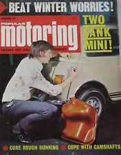 Popular Motoring magazine 01/1971 featuring Simca 1301 estate test