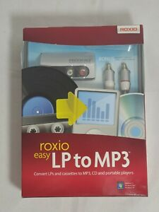 Roxio Easy LP to MP3 Audio Capture and Conversion Module and Software | New nib.