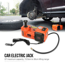 3 Functions 5T Car Electric Hydraulic Jack Impact Wrench and Air Compressor Set