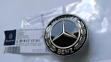 Genuine Mercedes-Benz C-class W205 Hood Badge Emblem  A0008171701 BLACK