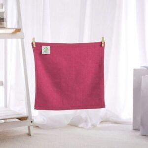 skin-friendly bamboo fiber baby soft towel,12pcs/set 25*25cm,6 colors be chosen