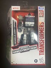 Transformers Deseeus Army Drone Figure War For Cybertron New Netflix Hasbro Htf