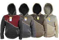 Cross Zip Handmade Hippie Boho Winter Woolen Patchwork Jumper Nepalsese Jackets