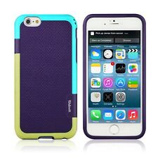 Hybrid Armor Shockproof Slim Case for iPhone 6 6s Plus Purple Blue Gre