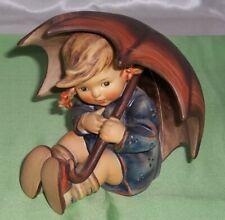 "Hummel Figurine "" Umbrella Girl "" #152/0/B Tmk-5 Book Value $450.00"
