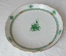 HEREND CHINESE GREEN ROUND SERVING PLATTER  10821RV