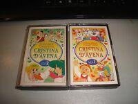 "Cristina D'Avoine "" le Piu' Belle Canzoni Di VOL.1 - 2 "" 1992 Promo Perlana"