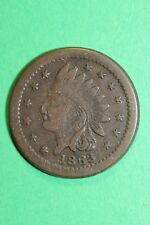 High Grade Civil War Token Indian Head U.S. Medal 92-199 R3 Sigel Die Oce430