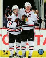 """Patrick Kane & Jonathan Toews Chicago Blackhawks Action Photo (Size: 8"""" x 10"""")"""