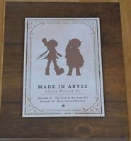 Animation Made in Abyss Story Board Art Book 01 Epi01-02 228page