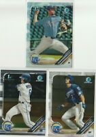 2019 BOWMAN  DRAFT CHROME Grant Gambrell Brewer Hicklen Michael Massey KC Royals