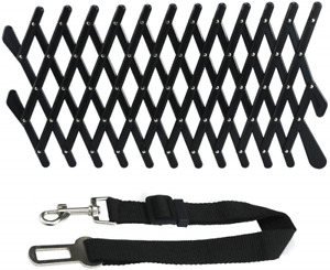 2x Pet Dog Car Window Vent &Seat Belt Grill Ventilator Guard Protection Lattice