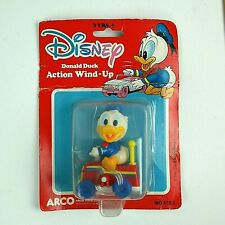 1984 Donald Duck Wind-Up Toy New in Package: Disney ARCO Vintage Toy