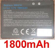 Battery 1800mAh type 990216 For Pioneer GEX-INN01