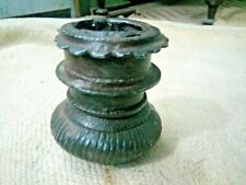 Rare Old Iron  Indo Persian  Oil Lamp / Candle Stand Collectable