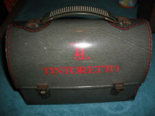1960's Tintoretto Dome Lunch Box fom Spain Very Rare Vintage Green Spanish