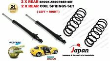 FOR MAZDA RX8 1.3 2003-2012 2X REAR LEFT RIGHT SHOCK ABSORBER + COIL SPRINGS SET