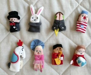 Finger Puppets Circus set