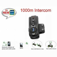 1x1,0km Motorrad Bluetooth Helm Sprechanlage Gegensprechanlagen Intercom Headset
