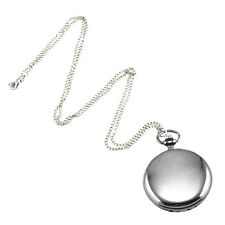 CS 5x Cool Chrome Chain Pocket Watch (silver) K9b1