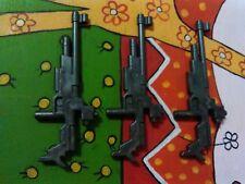 PLAYMOBIL X3 SUBFUSILES SUBFUSIL FUSILES AMETRALLADORAS AMETRALLADORA POLICIAS