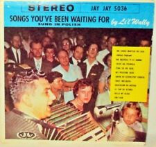 LI'L WALLY Songs You've Been Waiting For Sung in Polish LP Vinyl Jay Jay Stereo