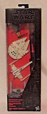 Star Wars The Black Series Titanium Vehicle Pack, Millennium Falcon, X Wing