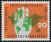 BUND 1956, MiNr. 240 I, guter PF, postfrisch, gepr. Schlegel, Mi. 200,-