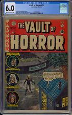 Vault Of Horror #21 CGC 6.0 Universal EC Comics 10-11/51 Cream To OFW Pages