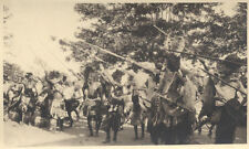 ORIGINAL 1920S PHOTO OF TRADITIONAL TRIBES PEOPLE DANCING - MOZAMBIQUE