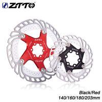 ZTTO Bicycle Brake Disc Floating Rotor f/ MTB Gravel Road Bike 203/180/160/140mm
