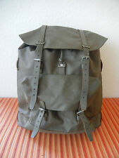 Original 1978 Swiss Army Military Waterproof Backpack Rucksack Rubberized Black