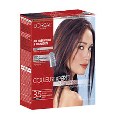 Cream brown hair color highlights products ebay loreal paris couleur experte express hair color 35 red cherry chocolate mousse darkest mahogany brown pmusecretfo Image collections