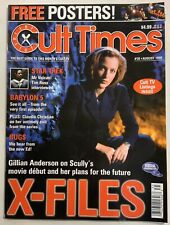 Cult Times The Best Of Cult Tv. August 1998 Issue#35 Babylon 5 Claudia Christian