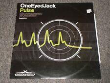 """One Eyed Jack~Pulse~12"""" Single~2002 Electronic Hard Trance~UK IMPORT~FAST SHIP"""
