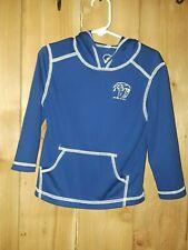 Op Kids Blue & White Shirt w Hoodie Size 3T New