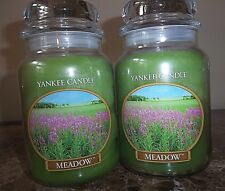 Yankee Candle  Meadow 22 oz. New lot of 2.  FREE SHIPPING.