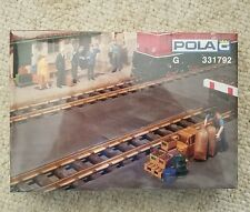 POLA G SCALE 1/22.5 CONCRETE BASE PLATES (4) | SHIPS FROM USA | 331792 Germany