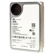"Seagate IronWolf Pro 10TB NAS Internal HDD 3.5"" SATA 6Gb/s 7200RPM ST10000NE0004"