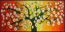Massive Tree flower Life aboriginal INSPIRED art painting Australia