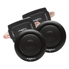 NEW SKAR AUDIO SK-T 1-INCH 160W MAX POWER SILK DOME NEODYMIUM TWEETERS - PAIR