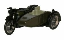 Oxford 76BSA005 BSA Motorcycle & Sidecar 34th Armoured 1/76 Scale = 00 Gauge New