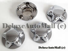 """7"""" WIDE Chrome New Wheel Center Caps for Ford F150 Ford Expedition - (Set of 4)"""
