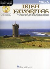 Playalong Irish Favourites Learn to Play Celtic Songs VIOLA Music Book & CD