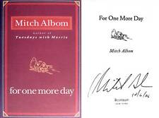 Mitch Albom SIGNED For One More Day 1st/1st HC NEW