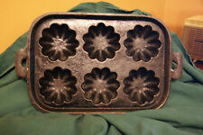 Cast Iron Muffin Pan- Holds 6 no name
