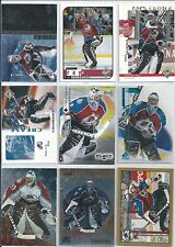 Patrick Roy  All Different 25-Lot of Inserts & Base Cards  All Colo  Lot #4